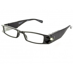 Foster Grant Lightspecs Plastic Lighted Reading Glasses