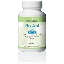 Nature's Pride Flax Seed Oil Supplement