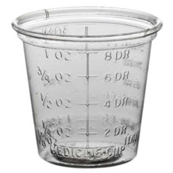 Solo Clear Graduated Medicine Cups