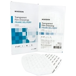 McKesson Transparent Film Dressings