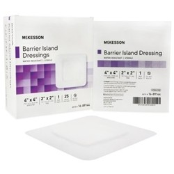 McKesson Water Resistant Barrier Island Dressings