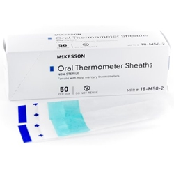 McKesson Oral Thermometer Sheaths