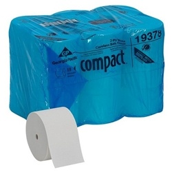 GP Compact White Coreless Toilet Paper