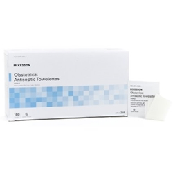 McKesson Obstetrical Antiseptic Towelettes