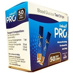 Embrace Pro Blood Glucose Test Strips