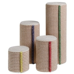 Curity Elastic Bandages with Hook and Loop Closure