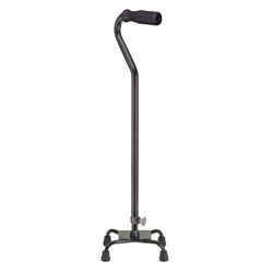 McKesson Small Base Quad Cane