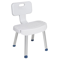 Drive Medical Shower Chair with Folding Back