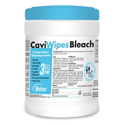 CaviWipes Bleach Disinfecting Towelettes