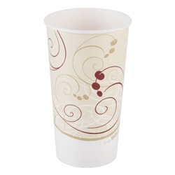Solo Symphony Waxed Paper Cold Cups