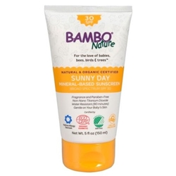 Bambo Nature Sunny Day Mineral-Based Sunscreen