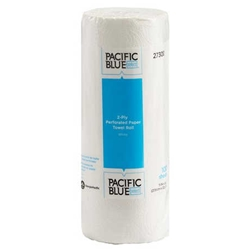 Pacific Blue Perforated Paper Towel Rolls