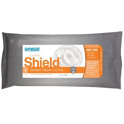 Sage Comfort Shield Incontinence Barrier Cream Cloths