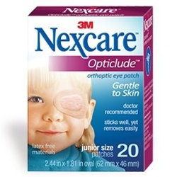 Nexcare Opticlude Orthoptic Eye Patch