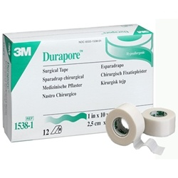3M Durapore Surgical Silk Tape