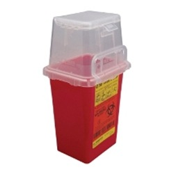 BD 1.5 Quart Nestable Sharps Disposal Container