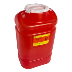 BD 5 Gallon Multi-Use One-Piece Sharps Disposal Container