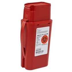 SharpSafety Transportable Sharps Container