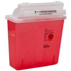 SharpStar In-Room Sharps Disposal Container